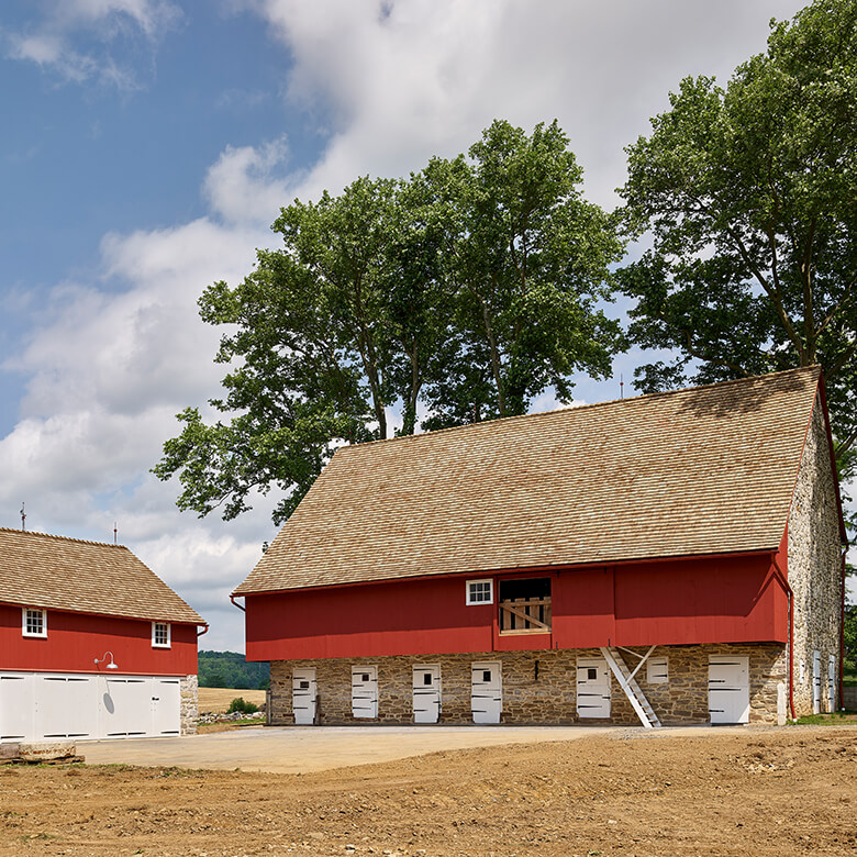 Historical Barn Restoration
